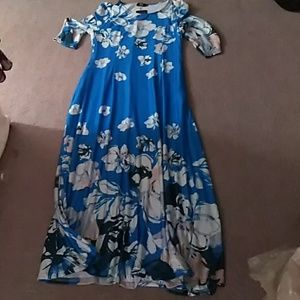 R and B collection maxi dress